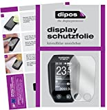 dipos I 3X Schutzfolie klar kompatibel mit Shimano Steps LCD SC-E6010 Folie Bildschirmschutzfolie