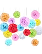 Pompones de papel, de Feelshion; decorativos para bodas, cumpleaños y fiestas de embarazadas