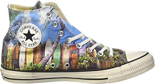 Converse Herren Ctas Hi Sneakers, Mehrfarbig (Light Blue/White/Black), 39 EU