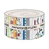 Maywood Studio Vintage Boardwalk Jelly Roll von Kim