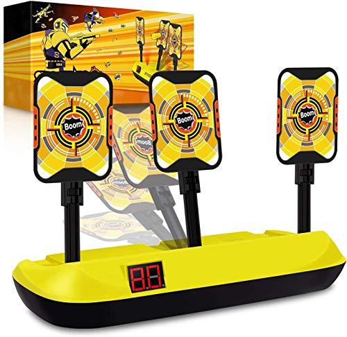 Jionchery elektrisch nerf Zielscheibe für Nerf Gun Elite Schießziel Digital Scoring Auto Reset Guns Zielspielzeug für Kinder