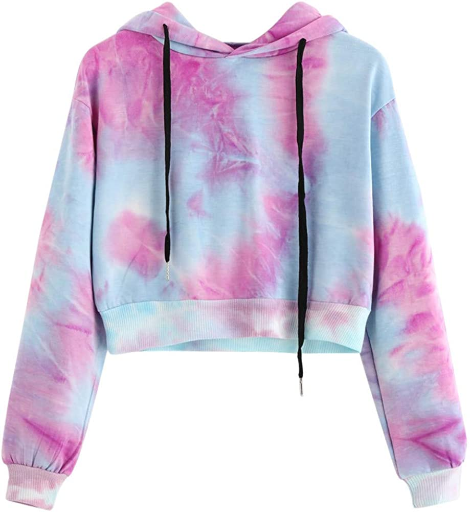Oiumov Sweatshirts for Women Crewneck Long Sleeve Sexy Print Casual Pullover Tops Blouse Hoodies for Teen Girls