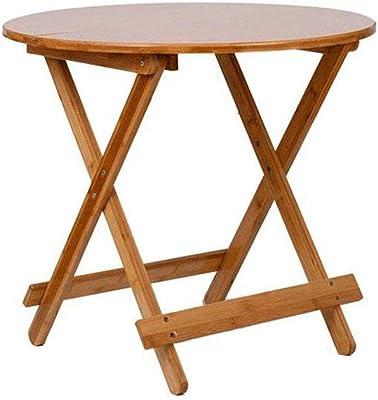 ソファサイドテーブル木製コーヒー折りたたみポータブルラップトップデスクストレージコンピュータテーブルを読む,60*60*52cm