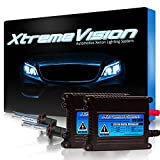 Xtremevision 35W Xenon HID Lights with Premium Slim Ballast - 9006 10000K - 10K Dark Blue - 2 Year Warranty