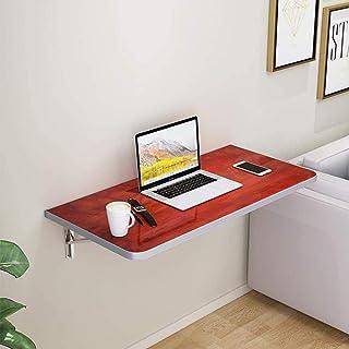 Table pliante attachée au mur, table à manger/table d'ordinateur / étagère d'un petit appartement de la table de travail p...