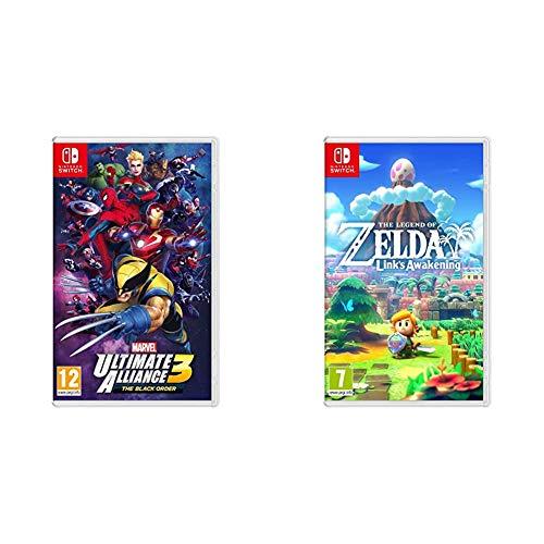 Marvel Ultimate Alliance 3: The Black Order - Nintendo Switch & The Legend Of Zelda: Link's Awakening Nintendo Switch