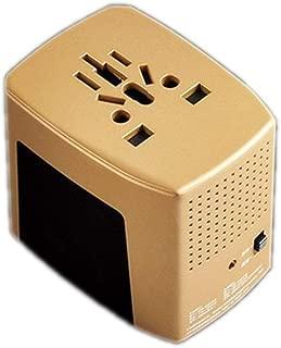 XIMINGJIA-O Power Plug Adapter - International Travel - 100-240 Volt Adapter - (1 Pack) Orange International Converter, (Color : Orange)