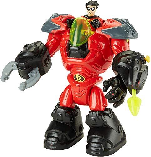 Imaginext Robin Mechanical Suit Gotham City Exclusive Figure Playset