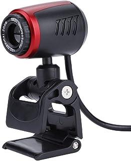 Exblue Webcam HD USB2.0 PC Webcam con Mic 16MP Cámara Web HD con micrófono Incorporado para computadora PC Laptop Llamadas de Video Grabación de conferencias