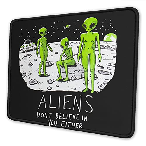 Alien The Mouse Pad with Stitched Edge Premium-Textured Mouse Mat Rectangle Non-Slip Rubber Base Gaming Vertical Mouse Pad,for Laptop Computer & Pc