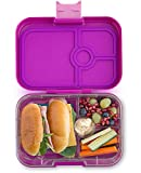 Yumbox Panino M Lunchbox (Bijoux Purple, 4 Fächer) - mittelgroß | Bento Box Brotdose Vesperbox...