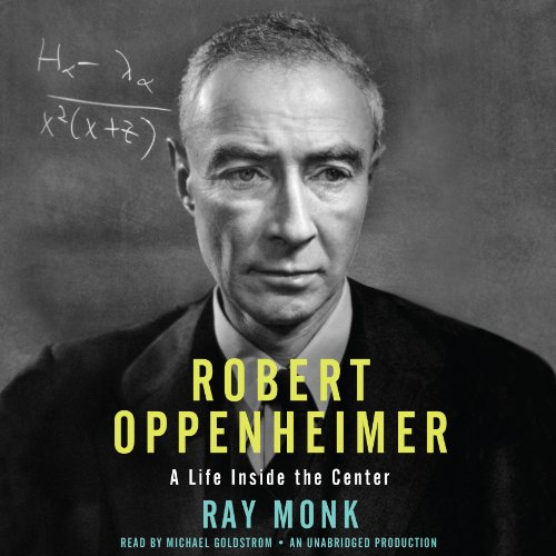 Robert Oppenheimer audiobook cover art