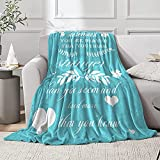 Compassion Throw Blanket - for Positive Energy Love Hope Support Comfort Sympathy - Healing Strength Blanket with Inspirational Messages for Friends, Family, Women Warm Hugs Recovery Gift 40x50 inch
