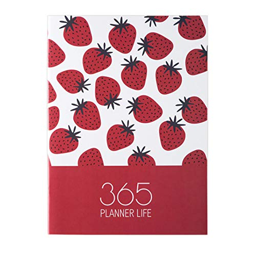Notebook Planner Diary Plan Notebook 365 Days Inner Page Monthly Daily Planning Organizer Agenda School Office