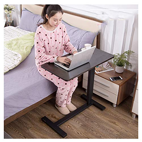 RKRXDH Standing Laptop Desk,Portable Foldable Laptop Stand,Laptop Stand Ergonomic For Writing In Sofa And Couch overbed table (Color : Rounded black leg 2)