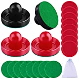 URATOT Air Hockey Pushers and Air Hockey Pucks Air Hockey Paddles, Goal Handles Paddles Replacement...