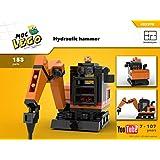 Hydraulic hammer (Instruction Only): MOC LEGO (English Edition)