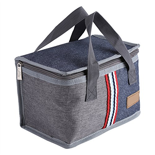 Tabpole Tragbare Lunch-Aufbewahrungsbox, Picknick-Tasche, isoliert, Thermo-Kühler, Lebensmittel-Tragetasche