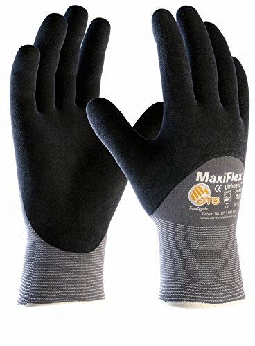 5er Pack MaxiFlex Ultimate ¾ beschichtet, Arbeitshandschuh, Montagehandschuh, Größe:8 (M)