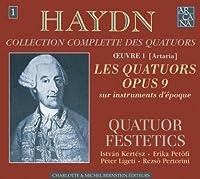 Quartets Op 9 by J. Haydn