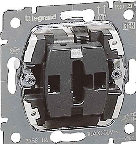 Legrand 775806 Universal Aus-/Wechselschalter DBPRO 21, 1x Wippschalter