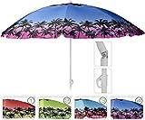 matrasa Sonnenschirm Palma mit UV-Schutz 98% Reflex Knickgelenk höhenverstellbar 176 cm Variante 3