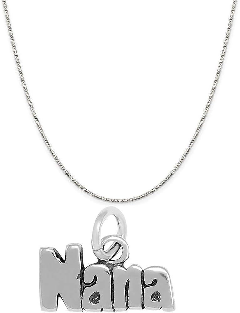 Raposa Outlet SALE Elegance Sterling Silver Nana wholesale Necklace 16