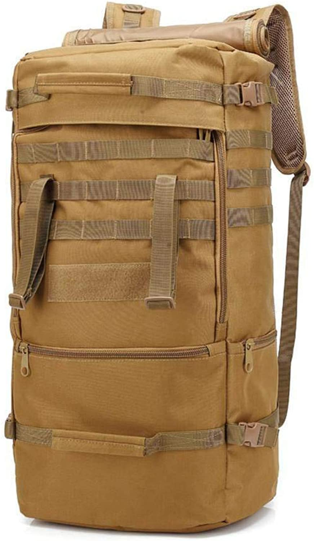 Defect Sporttaschen 60L Multi-Funktions-Camouflage Rucksack Outdoor-Reisen Rucksack Großraum-Schultertasche Bergsteigen Wanderrucksack Regen-Proof B07JJ5QKLX  Leitende Mode
