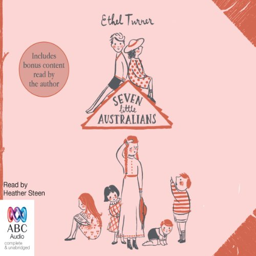 Seven Little Australians audiobook cover art