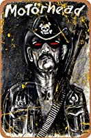 モーターヘッドブリキ看板壁の装飾金属ポスターレトロプラーク警告看板オフィスカフェクラブバーガレージバスルームバーカレッジの工芸品