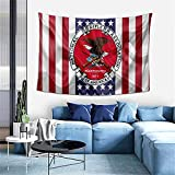 National Rifle Association Logo Emblem Silk Flag Nra Usa Background Cloth Background Wall Tapestry Home Decoration Mural Beach Towel Multipurpose (60*40inch)