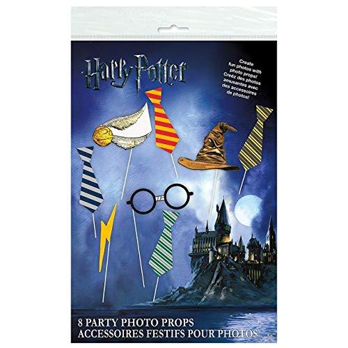Unique Party - Accesorios de Fotomatón - Diseño de Harry