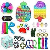 Fidget Toys Pack, Fidget Toy Sets Fidget Pack Barato, Simple Dimple Fidget, Push Bubble Fi...