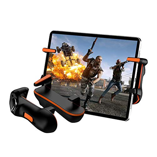 YONGQING Mobile Game Trigger Controller Capacitance L1R1 Trigger Button Gamepad Joystick for Ipad Tablet Phone FPS Game Accessories