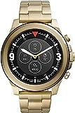 Fossil HR Latitude - Hybrid Smartwatch mit goldfarbenem Edelstahlarmband für Herren FTW7023