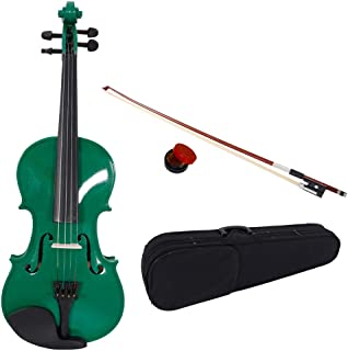 dark green violin