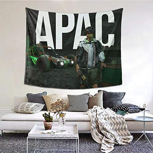 GEHIYPA Apac Race Poster Awall Hanging Tapestry 3d Printing Wall Poster Decor For Room Living One Size
