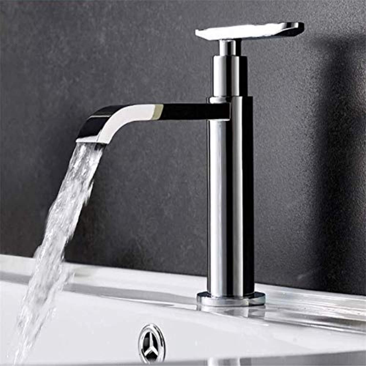 Fashion Basin Faucet Single Cold Hand Wash Bathroom Hotel Faucet Hotel Sink Bar Faucet