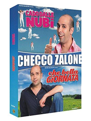 Checco Zalone Cofanetto - Cado dalle nubi + Che bella giornata  (2 Blu-Ray) [Italia] [Blu-ray]
