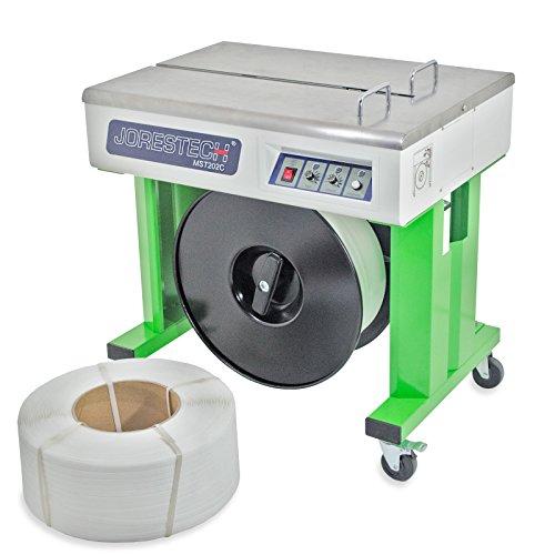 JORESTECH Semi-Automatic Strapping Machine + 1 Strap Coil Free