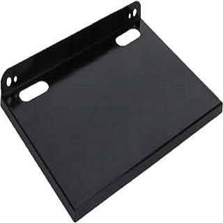 Set Top Box/WiFi Router, Multipurpose Wall Mount Shelf/Stand, Black, Cast Iron