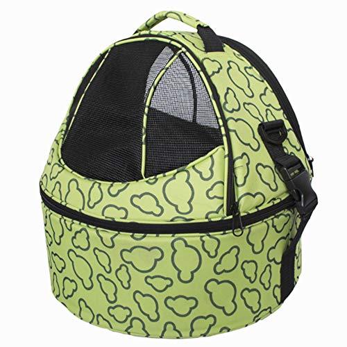 SHDS Pet Cat Outdoor Travel Carrier Packbag Portable Dog Pet Carrier Backpack Carrying Handbag Brown