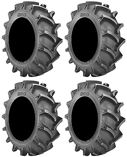 Full set of BKT TR 171 (6ply) 37x9.5-20 ATV Mud Tires (4)