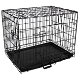 Easipet 42'' Black metal Dog/puppy cage