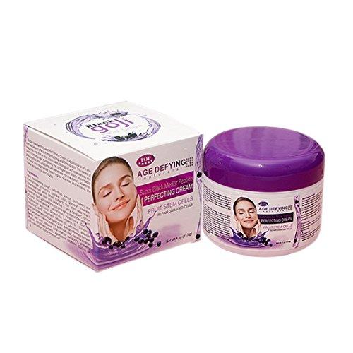 HLPIGF Crema de dia humectante blanqueadora de multiples efectos Crema de lycium Negro barbarum antiarrugas hidratacion profunda 113g
