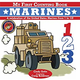 My First Counting Book: Marines by [Cindy Entin]