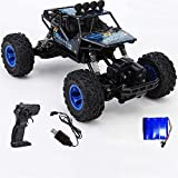 Nixi888 Mando a distancia para coche con mando a distancia 4 WD 2,4 Ghz 1:14 de la escala de control remoto de aleación Auto Buggy Crawler Buggy Crawler Bigfoot Toy Car for Adultos Niños