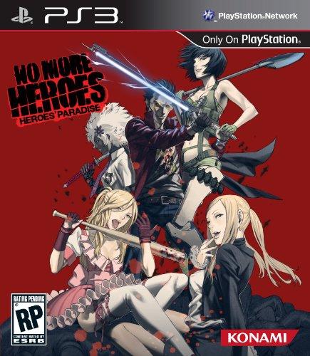 Konami No More Heroes: Heroes Paradise, PS3