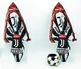 IDEA PASQUA 2021 2 Uova di Pasqua AL LATTE BALOCCO JUVENTUS da GR 240 cioccolato AL LATTE con fantastiche SORPRESE + Portapenne Juventus
