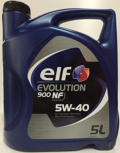 Elf ELEX5405 Evolution 900 NF 5W40 5L, 5 L